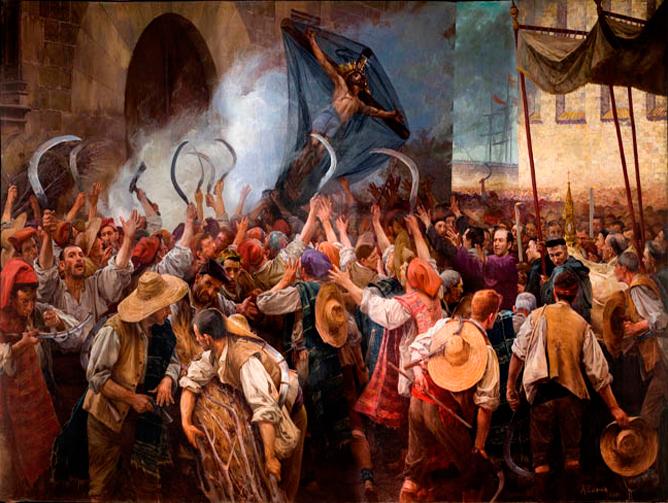 Reapers' War in Barcelona
