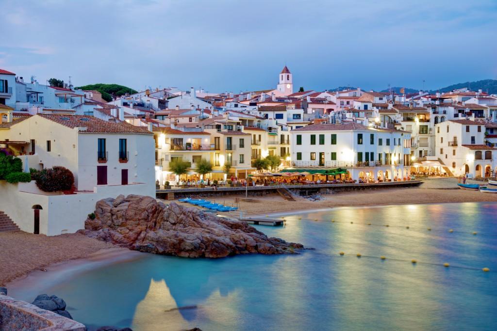 The sea village Calella de Palafrugell, in the surroundings of Barcelona