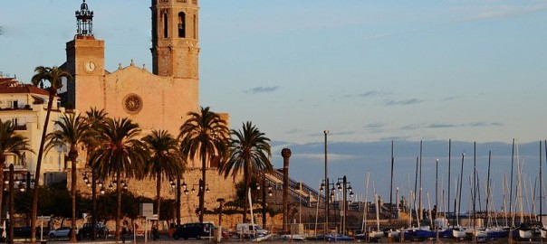 Sitges, a nearly city from Barcelona