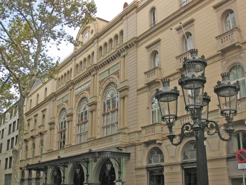 Facane of the Liceu