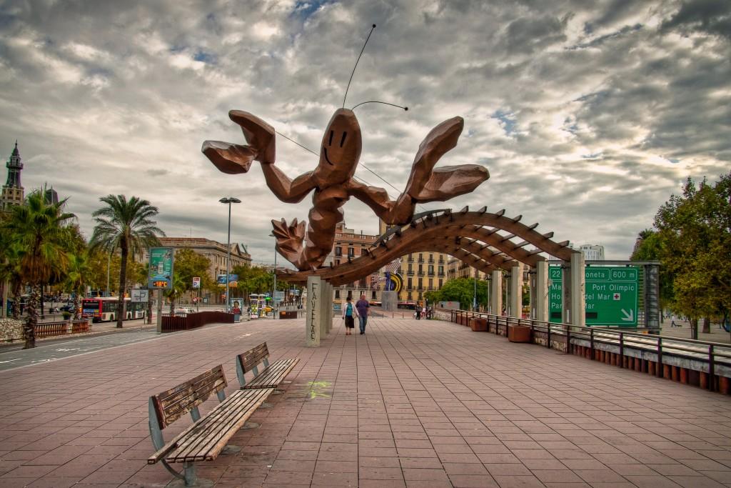 Mariscal's prawn in Barcelona