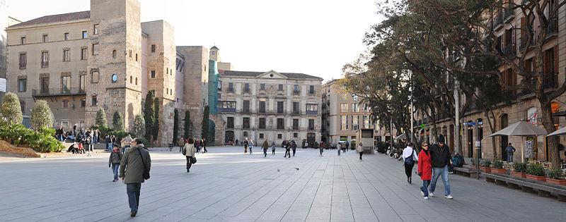 Plaça Nova in Barcelona