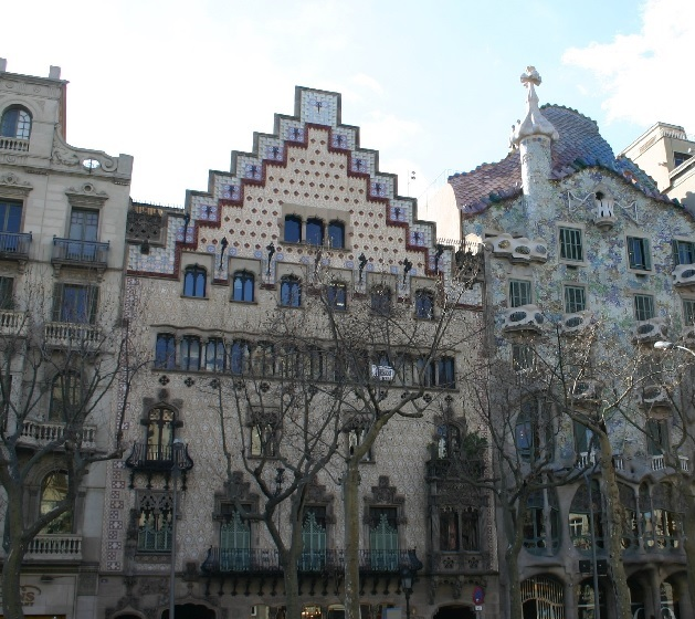 Barcelona capital of modernism