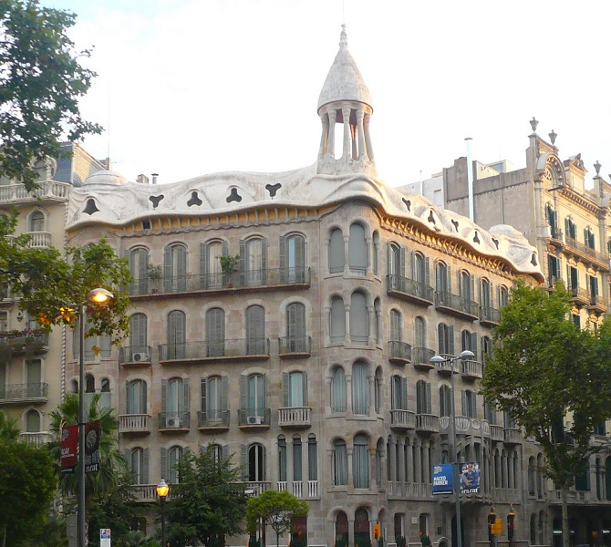 One of the architectural gems of eixample district