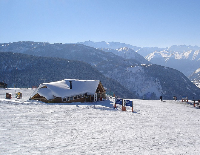 Baqueira-Beret is the most famous ski resort of Catalonia
