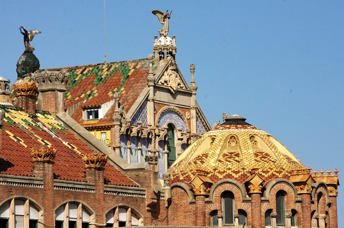 Hospital de Sant Pau is a good attraction in Sagrada Familia Neighbourhood
