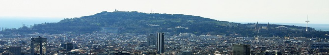 Montjuic is one of the most recognizable hills of Barcelona