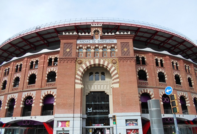 the best apartment in Barcelona is located around Las Arenas Shopping Center