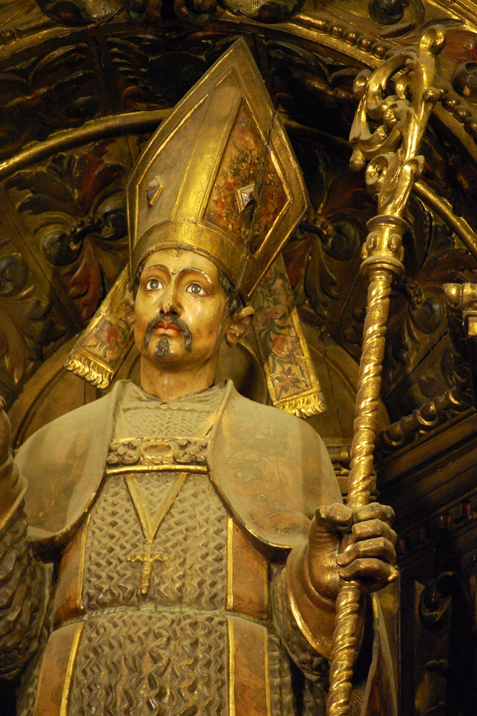 Saint Sever: one of the patrons of barcelona