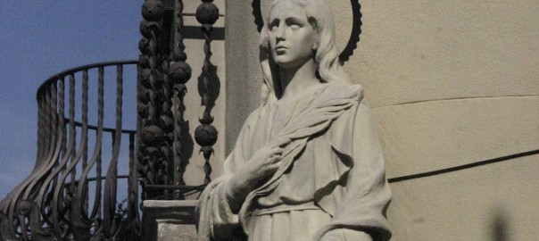Santa Eulalia: one of the patrons of barcelona