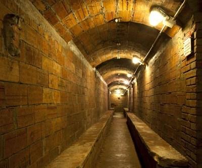 Plaça del Diamant bunker forms part of the unusual architecture of Barcelona