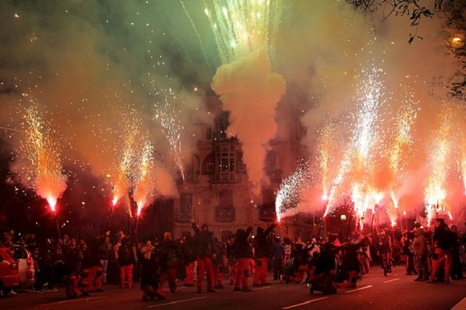 Barcelona for free: neighborhoods parties & la Mercé