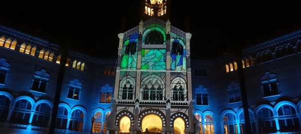 Barcelona for free: mapping in Hospital de Sant Pau