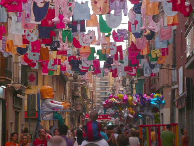 Twelve reasons to visit Barcelona in 2017: Gracia & Sants festivals