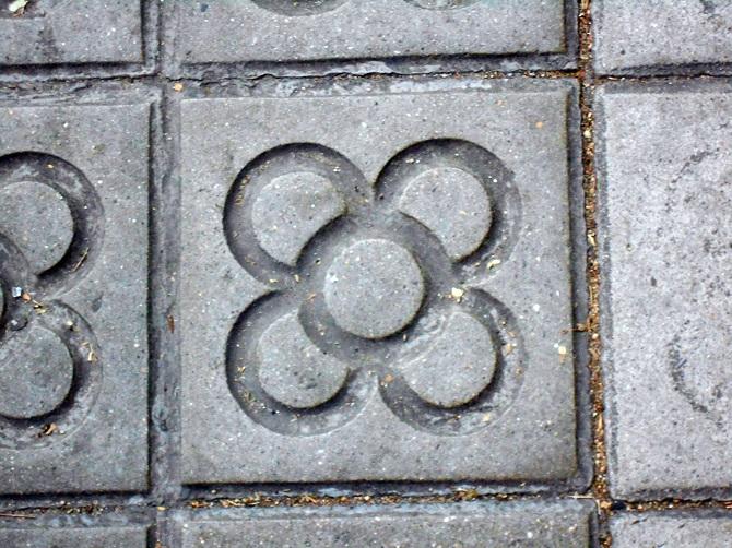 Route of design in Barcelona: barcelona's floor