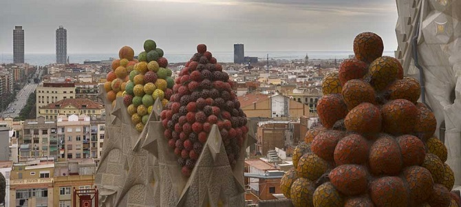 Route of design in Barcelona: Sagrada Familia