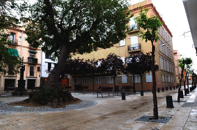 Barcelona charming corners: plaza Prim
