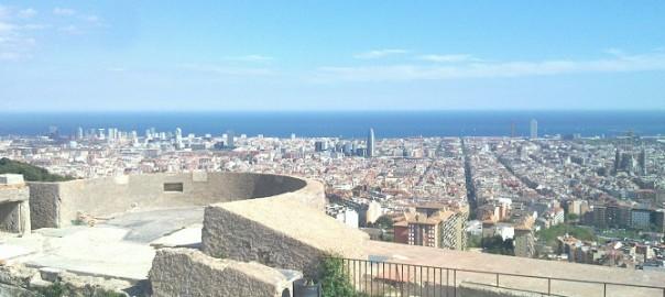 Barcelona charming corners: Carmel's bunkers