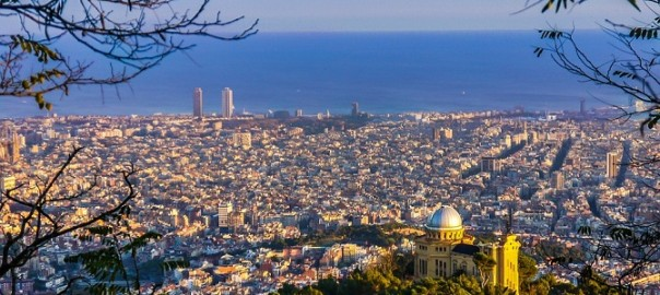 Plans to do in Barcelona during spring: see the skyline