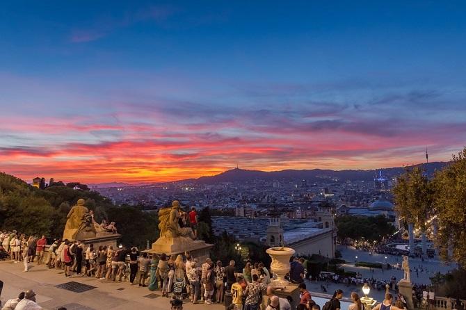 Plans to do in Barcelona during spring: enjoy Montjuïc