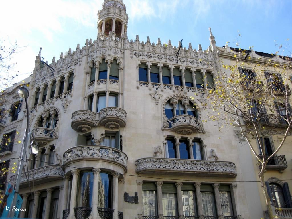 casa lleó morera-modernism in barcelona