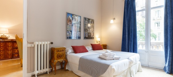 rent-a-bedroom-in Barcelona-for-holidays