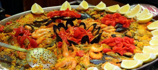 paella in Barcelona