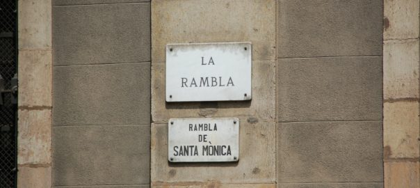 stroll around Las Ramblas