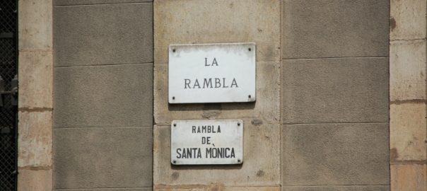 stroll around Las Ramblas